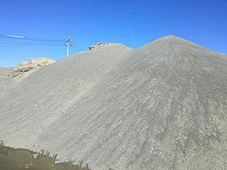 谷口砂利プラント:砂